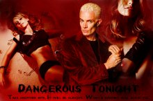 Фан-арт «Dangerous Tonight» PG-15