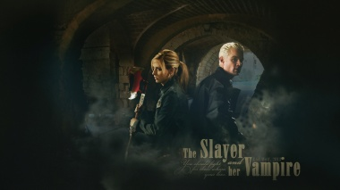 Фан-арт: «The Slayer and her Vampire»  PG